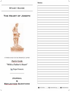 St. Joseph Study Guide